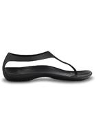 Crocs Flip Women Black / Black Sexi