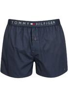 Tommy Hilfiger Men's Icon Cotton Woven Boxer Shorts - Navy Blazer - Xxl - Blue