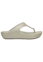 Crocs Wedge Women Platinum Crocs Sloane Platform