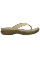 Crocs Flip Women Chai / Walnut Capri V