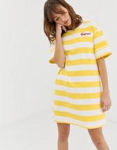 Vestido Tipo Camiseta Con Diseño A Rayas Jax De Penfield