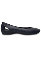 Crocs Flat Women Navy Crocs Laura S