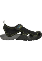 Crocs Sandal Men Black / Charcoal Swiftwater