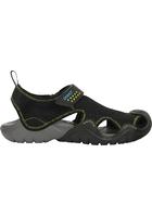 Crocs Sandal Men Black / Charcoal Swiftwater