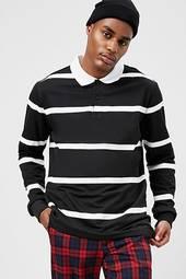 American Stitch Striped Polo Shirt