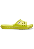 Crocs Slide Unisex Tennis Ball Green/white Crocband™ Ii