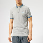 Superdry Men's Sunrise Polo Shirt - Grey - S - Grey