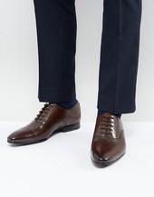 Zapatos Oxford De Cuero Marrón Murain De Ted Baker
