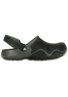 Crocs Clog Men Graphite / Black Swiftwater Leather