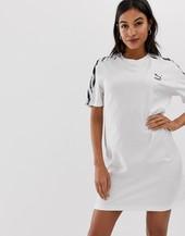 Vestido Estilo Camiseta Con Detalles Estampados De Cebra De Puma