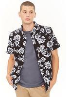 Photorealistic Rose Print Shirt