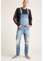 Clean Wash Denim Overalls
