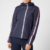 Superdry Women's Adriatic Arctic Sd-windcheater - Hot Pink/navy/white - Uk 8 - Blue