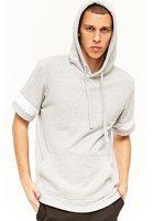 Short Sleeve Hoodie Sweatshirt