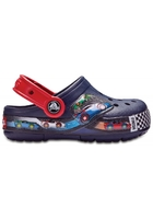 Crocs Clog Unisex Navy Crocband™ Fun Lab Graphic Lights S