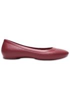 Crocs Flat Women Garnet Crocs Lina