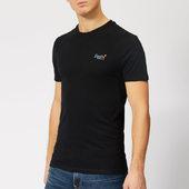 Superdry Men's Orange Label Vintage Embroidery T-shirt - Black - S - Black