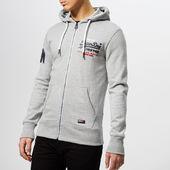 Superdry Men's Premium Gds Tri Lite Zip Hoody - Varsity Grey Grit - S - Grey