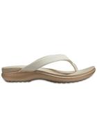 Crocs Flip Women Oyster/tumbleweed Capri V
