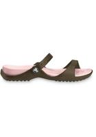 Crocs Sandal Women Chocolate / Cotton Candy Cleo