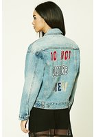 Do Not Disturb Me Denim Jacket