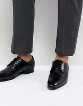 Zapatos Oxford De Cuero Negro Ollivur De Ted Baker