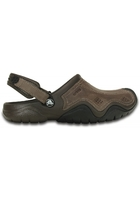 Crocs Clog Men Espresso / Black Swiftwater Leather