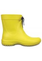 Crocs Boot Women Lemon Crocs Freesail Shorty Rain S