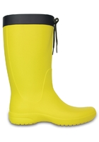 Crocs Boot Women Lemon Crocs Freesail Rain