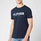 Tommy Hilfiger Men's Hilfiger Applique T-shirt - Sky Captain - S - Blue