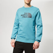 The North Face Men's Drew Peak Crew Neck Sweatshirt - Storm Blue - M