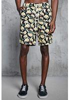 Banana Print Shorts