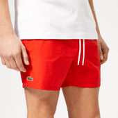 Lacoste Men's Classic Swim Shorts - Red - 3/s - Red
