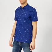 Ted Baker Men's Tuka Polo Shirt - Dark Blue - 2/s - Blue