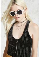 Velvet Zipper Front Bodysuit