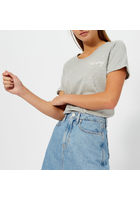 Tommy Hilfiger Women's Denise Round Neck T-shirt - Grey Marl - L - Grey