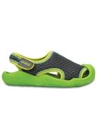 Crocs Sandal Unisex Graphite / Volt Green Swiftwater S