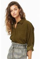 Pocket Corduroy Shirt