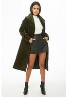 Quilted Velvet Coat