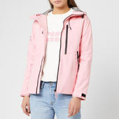 Superdry Women's Eclipse Sd-windcheater Jacket - Powder Pink - Uk 8 - Pink