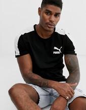 Camiseta Negra T7 De Puma