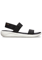 Crocs Sandal Women Black / White Literide™