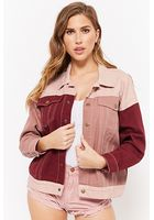 Momokrom Colorblock Denim Jacket