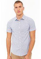 Pinstripe Geo Shirt