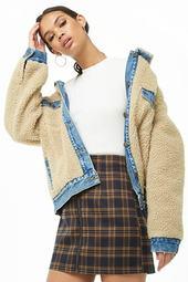 Plaid A-line Mini Skirt