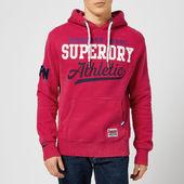 Superdry Men's Interstate Hoodie - Eagle Red - S - Red