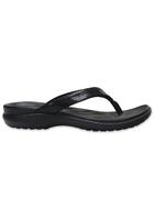 Crocs Flip Women Black Capri V Sequin