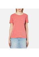 Levi's Women's The Perfect Pocket T-shirt - Tropicalia - S - Pink