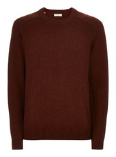 Selected Homme Red Wool Jumper