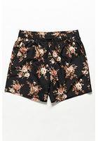 Floral Print Swim Trunks